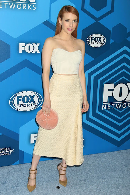 Actress, Singer, @ Emma Roberts - Fox Network 2016 Upfront Presentation in New York City