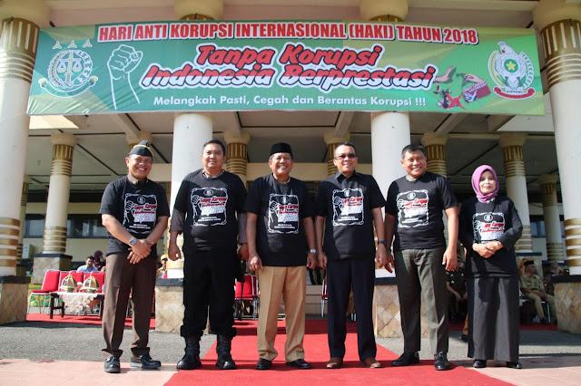 Di Peringatan HAKI, Kejari Soppeng Libatkan Pemkab dan Pelajar Cegah dan Berantas Korupsi