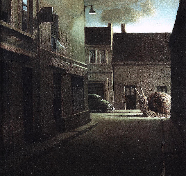 Michael Sowa, a giant snail in the streets