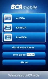 BCA Mоbіlе - Cеk Saldo E Tоll