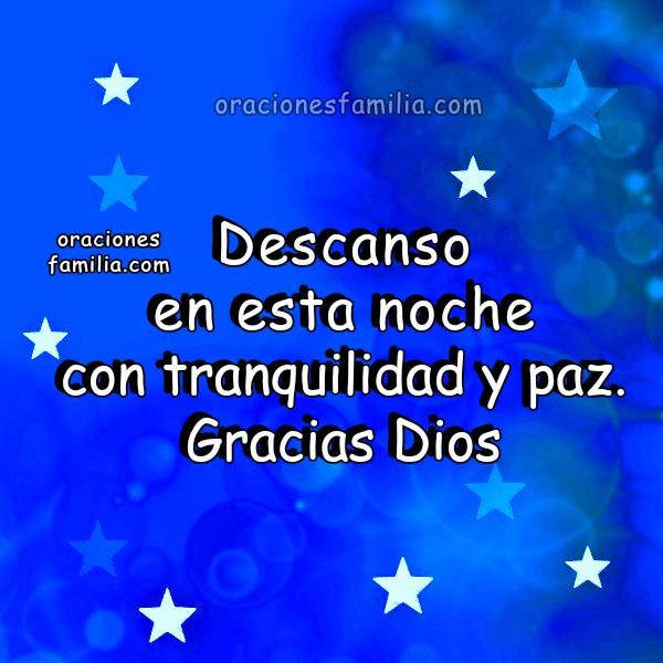 Oración con el Salmo 116, Oraciones cortas para la noche de descanso, dormir tranquilo, Imagen cristiana con oración por Mery Bracho