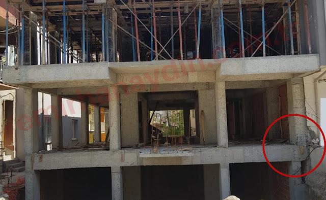 inşaatta aks hatası