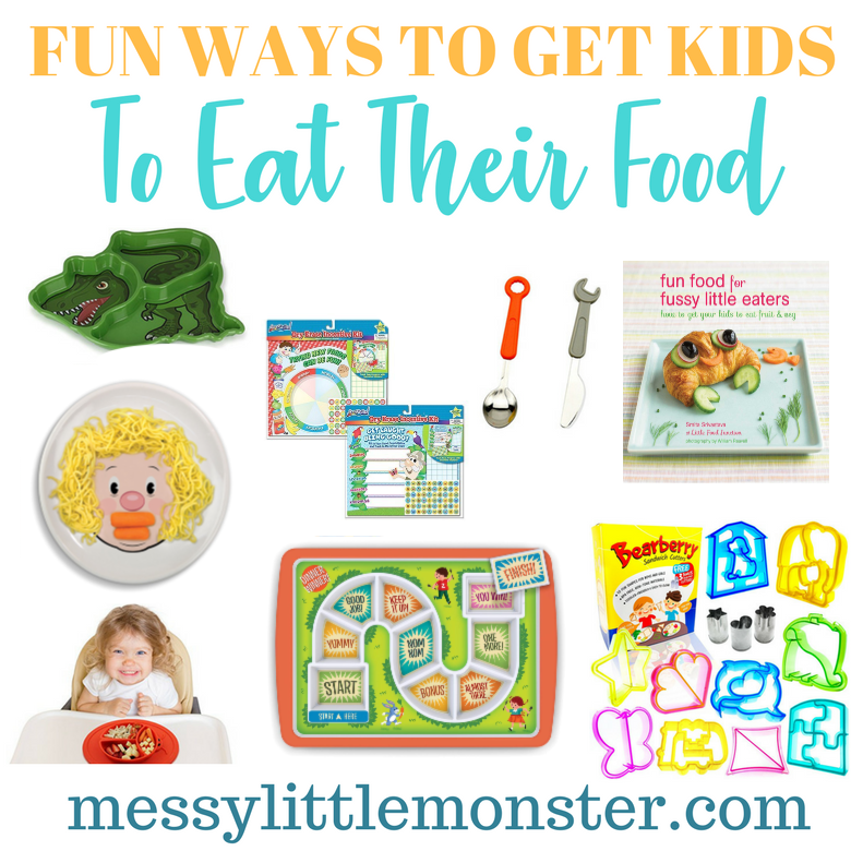 Fun Ways to get Fussy Eaters to Eat Their Food