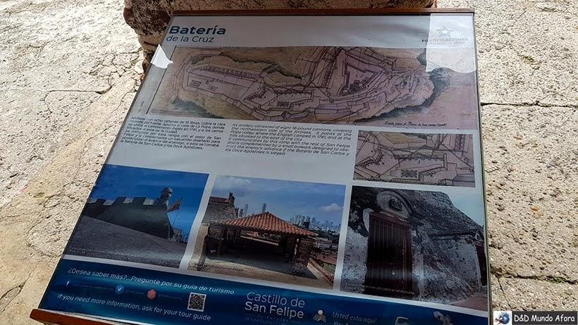 Interior do Castelo de San Felipe de Barajas, Cartagena: como visitar