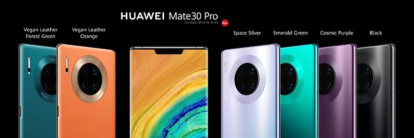 Huawei Mate 30 Pro Colors