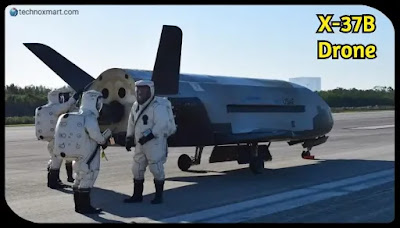 x-37b automatic drone, us space mission