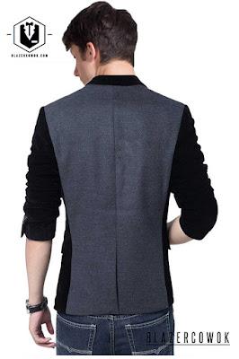 blazer cowok blazercowok.com jaket korean jas pria sk117 b