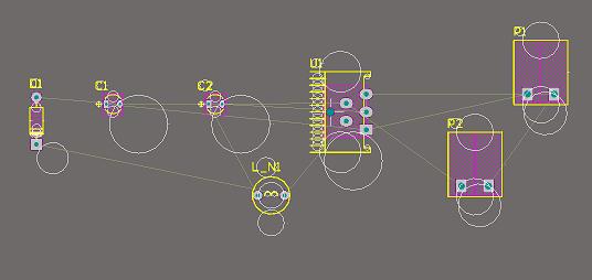 Lỗi vòng tròn trắng trong PCB (Altium bản 14)