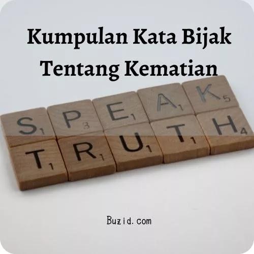 Kata Bijak Kejujuran