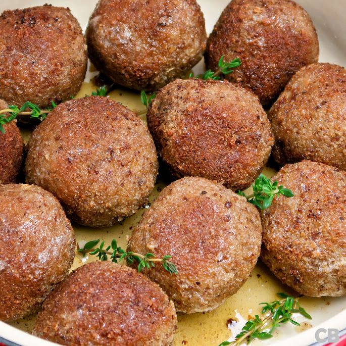 Recept Een pan vol met echte Limburgse gehaktballen