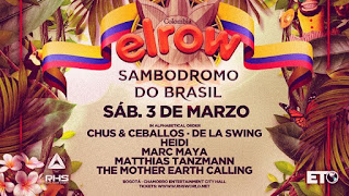 Fiesta elrow en Bogotá Poster 2