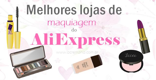 Melhores lojas de maquiagem do AliExpress