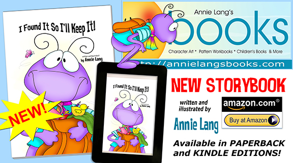 """New Children's Book title by Annie Lang """" I Found It So I'll Keep It"""" NOW AVAILABLE at Annie Lang's Book Store!"""