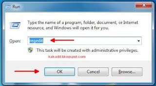 Cara Copy dan Export Registry Software maupun Program Applikasi pada komputer