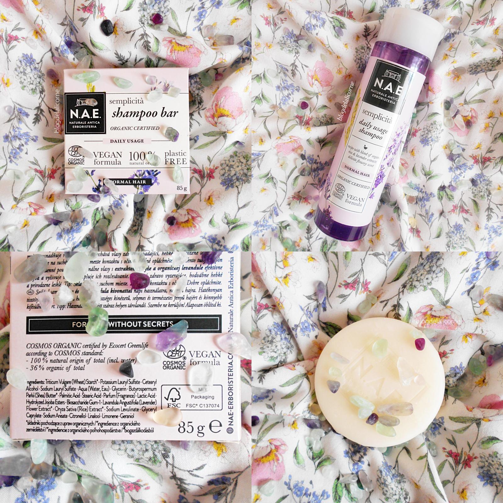 N.A.E. Semplicita organický tuhý šampón
