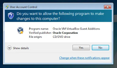Install VirtualBox Guest Additions Image