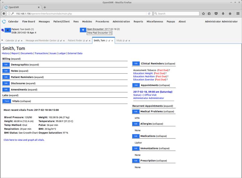 Free Open Source EHR/EMR System That Runs on Ubuntu Linux