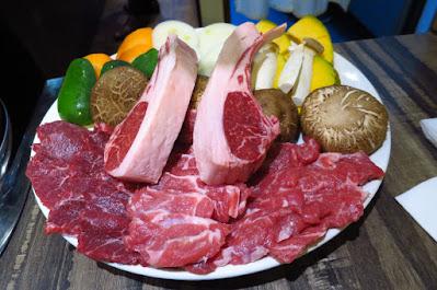 The Hitsuji Club, jingiskan set lamb chop