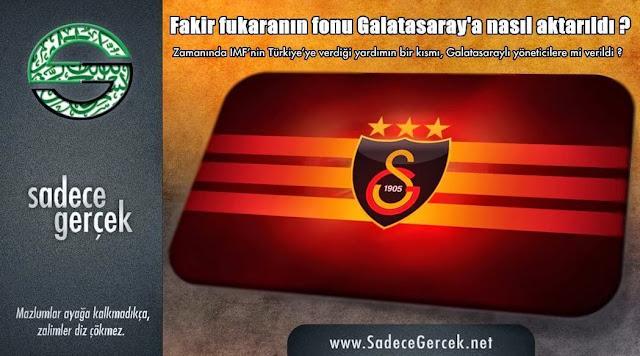Fakir fukaranın fonu Galatasaray'a nasıl aktarıldı?