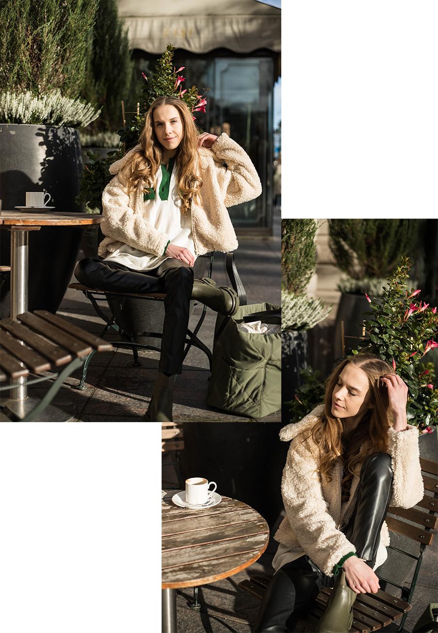 Rento asukokonaisuus syksyyn, naisten muoti // Casual autumn outfit, women's fashion