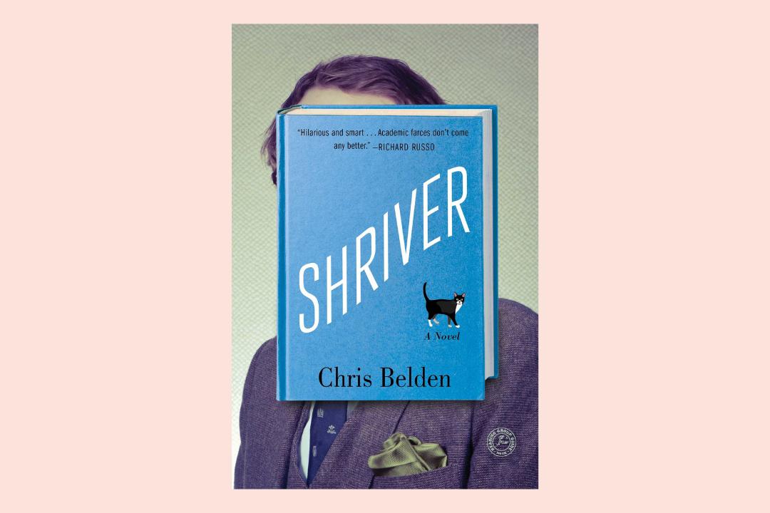 shriver novel by chris belden