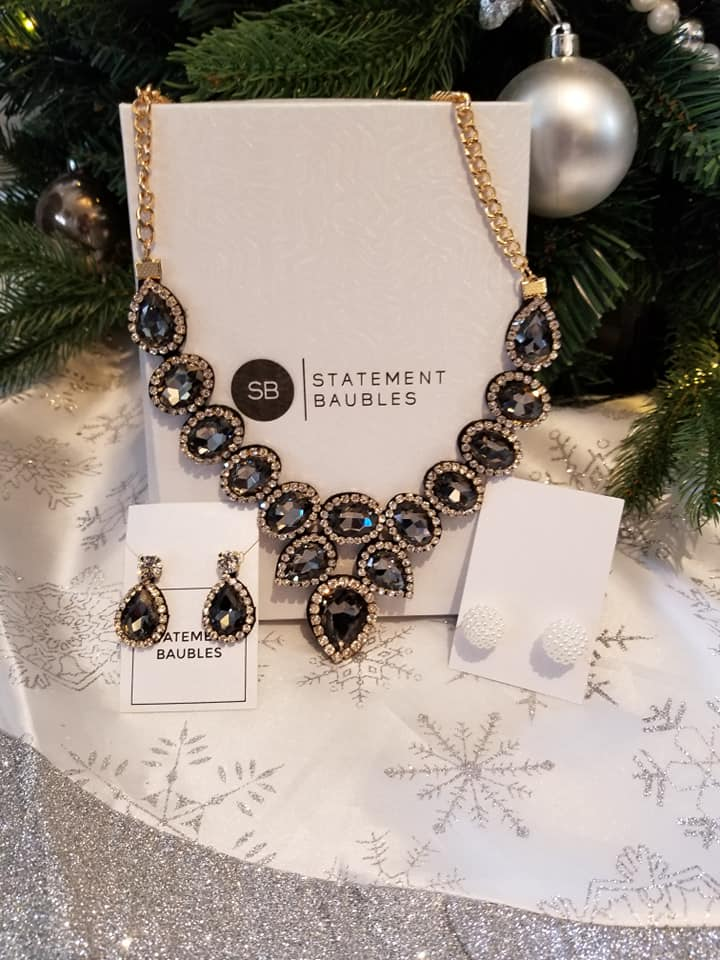 Make a Statement During the Holidays with Statement Bauble Jewelry + $50.00 Gift Code Giveaway! #MBPHGG19