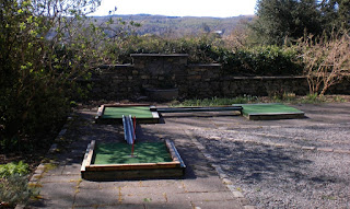 Crazy Golf at the Lake District Visitor Centre in Brockhole on Windermere