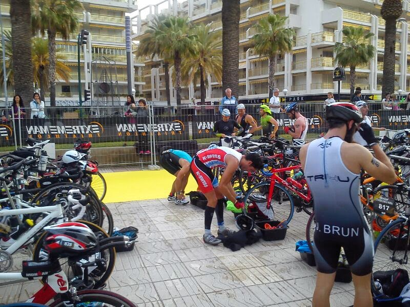 fotos extreme man salou 2014 transicion triatlon
