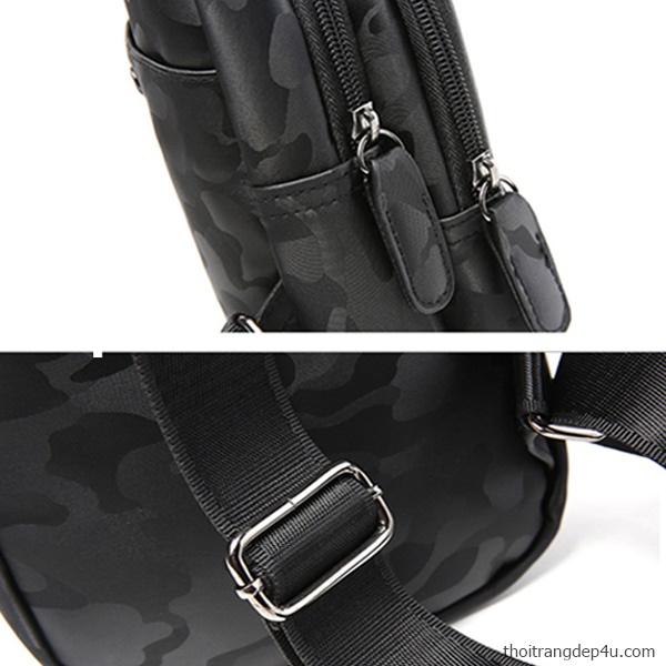 Túi đeo chéo trước ngực vải dù thời trang cao cấp TV012
