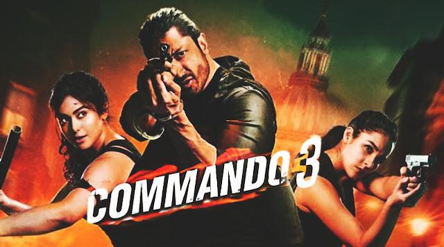 New Bollywood Commando 3 full movie in hindi download 720p