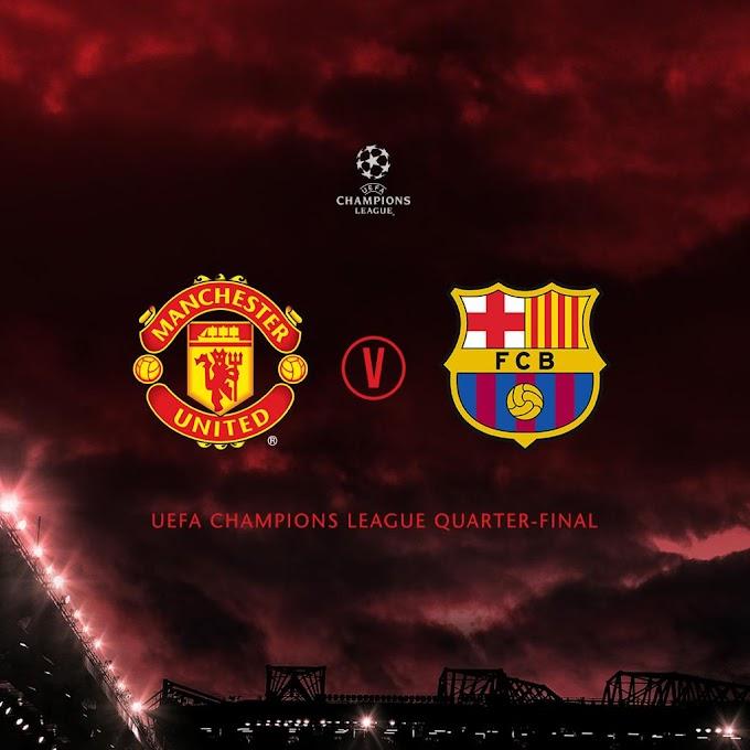 Uefa Champions League Quarter Final Draw (JPG)
