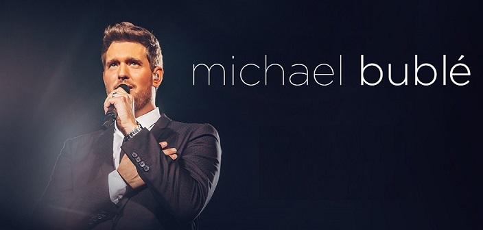 Cantante Michael Buble en Mexico