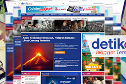 detikcoy Template Blogger Mirip Portal Berita detik.com