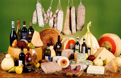 Viaggynfo: Risorse per chi viaggia in Italia: Lista dei prodotti tipici