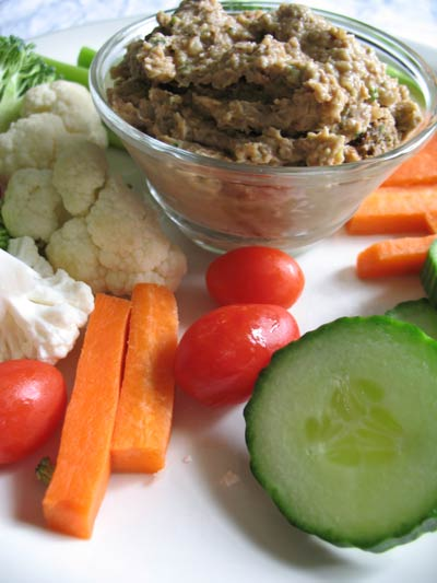 Pinto Bean and Zucchini Hummus