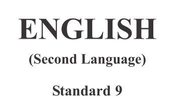 GSSTB Textbook STD 9 English Second Language