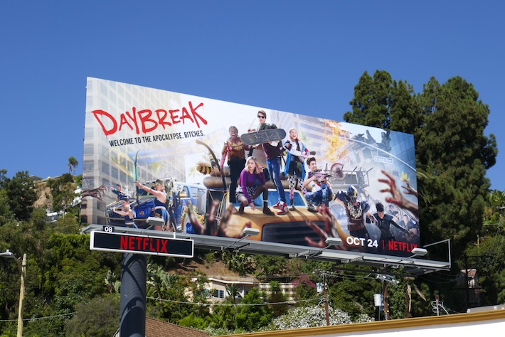 Daybreak series premiere billboard