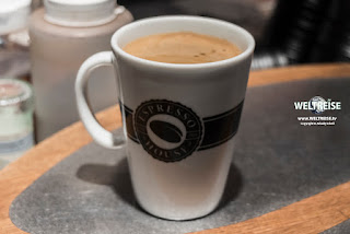 Espresso House Kaffee in Aalborg, Dänemark. www.WELTREISE.tv