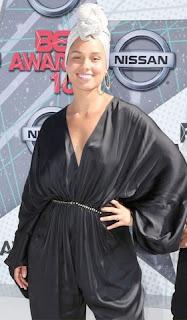 Alicia Keys at BET awards