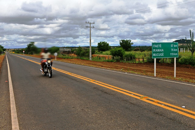 Chapada: BA-245 tem 47 quilômetros recuperados em Marcionílio Souza