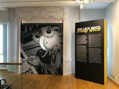 exposición de Wally Wood en Festival del cómic BD Angouleme 2020