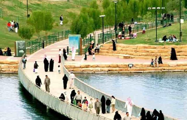 Salam Park in Riyadh - Saudi Arabia