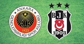 Gençlerbirliği - Beşiktaş Canli Maç İzle 13 Ekim 2017