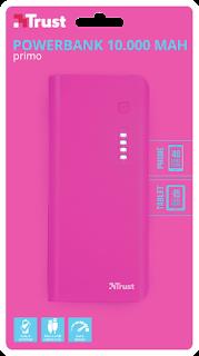 trust power bank portatile 10000 mah 22749