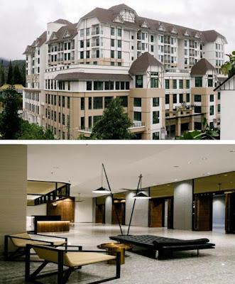 Avillion hotel cameron highland bangunan