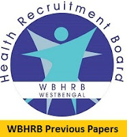 WBHRB Block Medical Officer Previous Papers