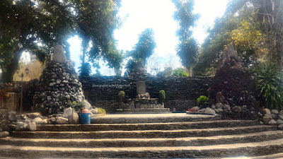 Pintu gerbang Site Museum Taman Purbakala Cipari