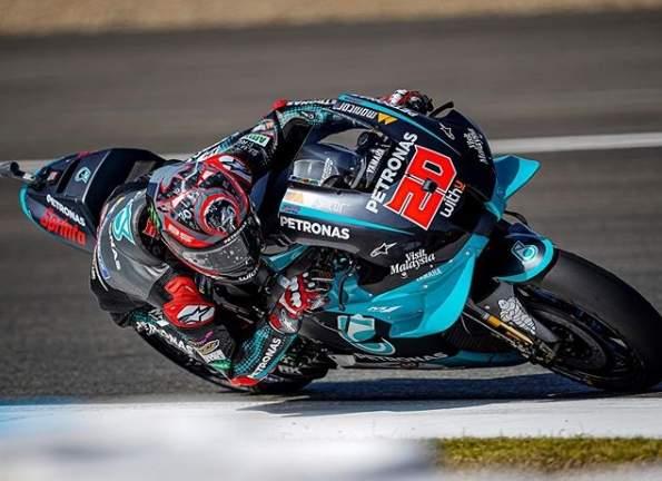 Fabio Quartararo Juara MotoGP Andalucia 2020