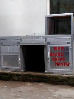 model gerobak aluminium