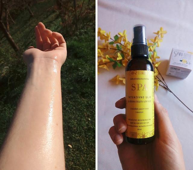 san kozmetika, za intenzivno suhu i osjetljivu kožu, obnova kože, natural cosmetics, prirodna kozmetika, ulje za obnovu kože, ulje za suhu kožu